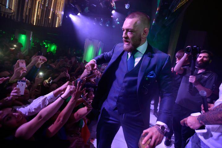 Wird einen Sprung in der Forbes-Liste der bestbezahlten Sportler machen: Connor McGregor