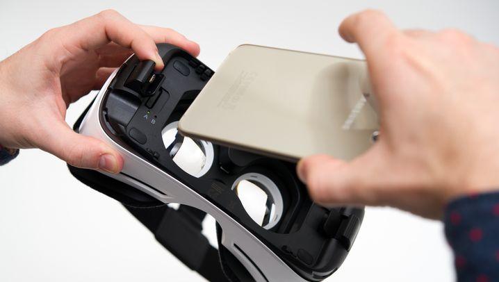 Samsungs Gear VR: Realitätsflucht per Smartphone