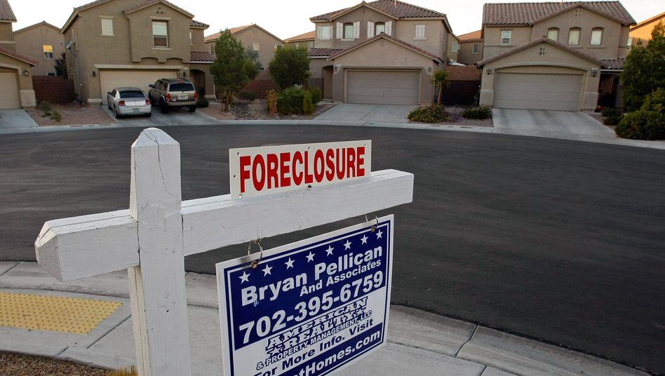 Zwangsräumung: In Las Vegas haben sich besonders viele Hauskäufer verspekuliert