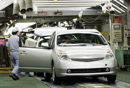 Produktionsstopp: Toyota steckt wie der Rest der Branche in der Krise