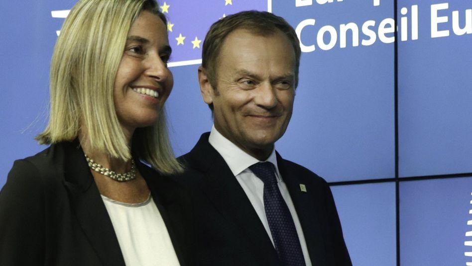 Mogherini, Tusk: Umstrittene Personalentscheidungen