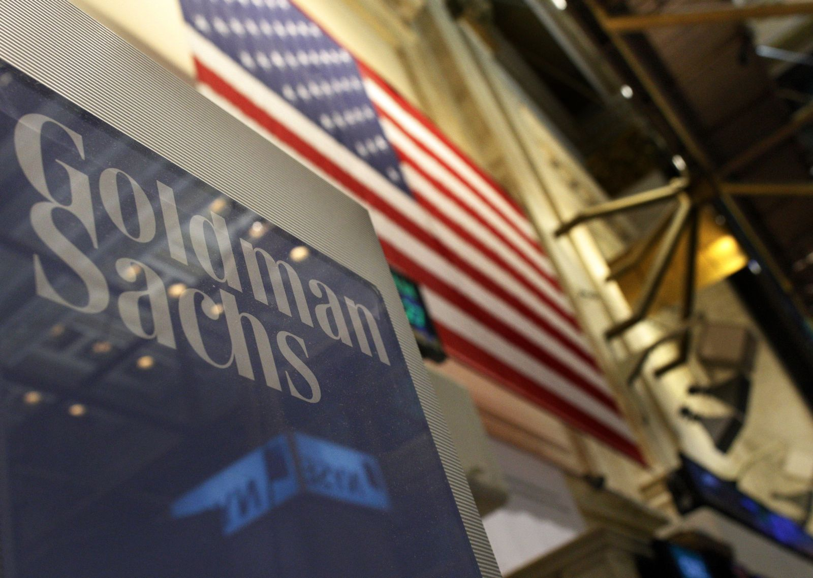 Goldman Sachs / Logo / NYSE