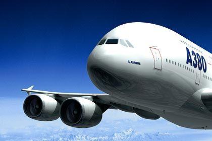 Ein guter Grund zum Umbau von Landeplätzen: Auf Flughäfen weltweit finden derzeit Umbauten statt, um dem Giganten-Flugzeug Platz zum Landen zu verschaffen