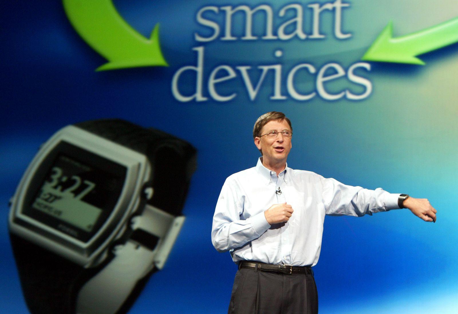 SmartWatch / Bill Gates / Fossil SPOT