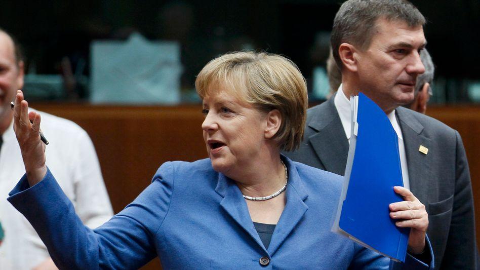 Bundeskanzlerin Merkel: Ein substanzielles Paket zur Rettung der Gemeinschaftwährung sieht anders aus