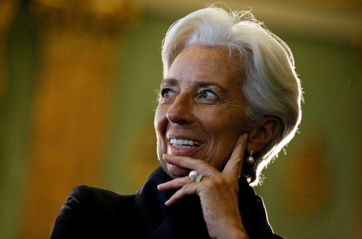 """IWF-Chefin Christine Lagarde: """"Selbstgefälligkeit ist ein Risiko"""""""