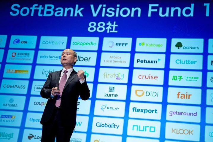 Softbank-Chef Son braucht Geld