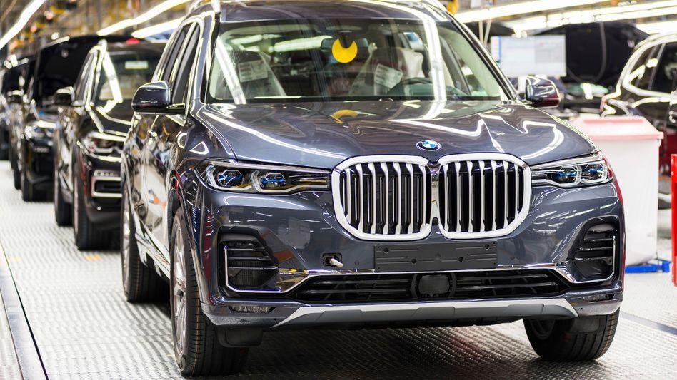 BMW-Werk Spartanburg in South Carolina: Die fünf BMW X-Modelle werden von hier aus in alle Welt verschifft