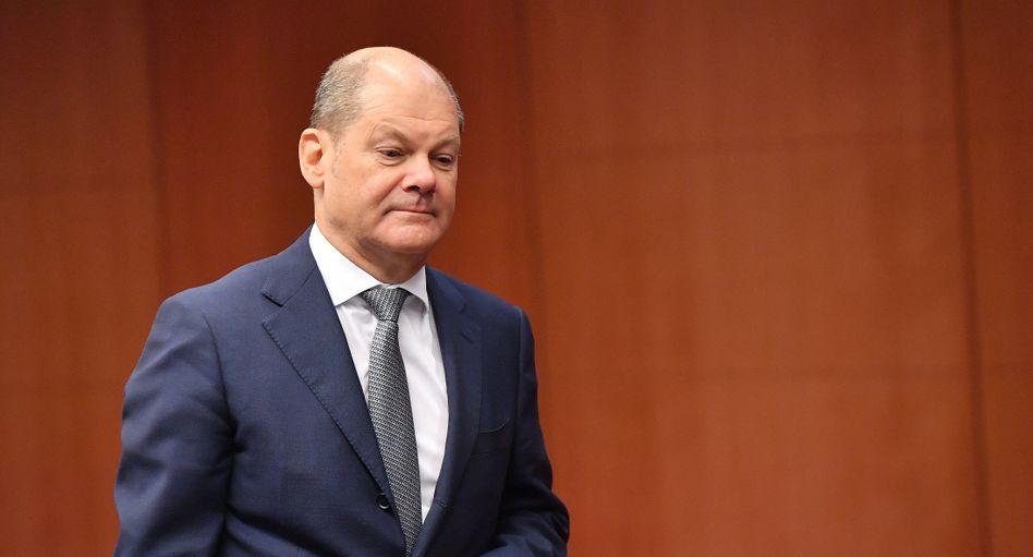 Hat auch schon schönere Themen erlebt: SPD-Kanzlerkandidat Olaf Scholz