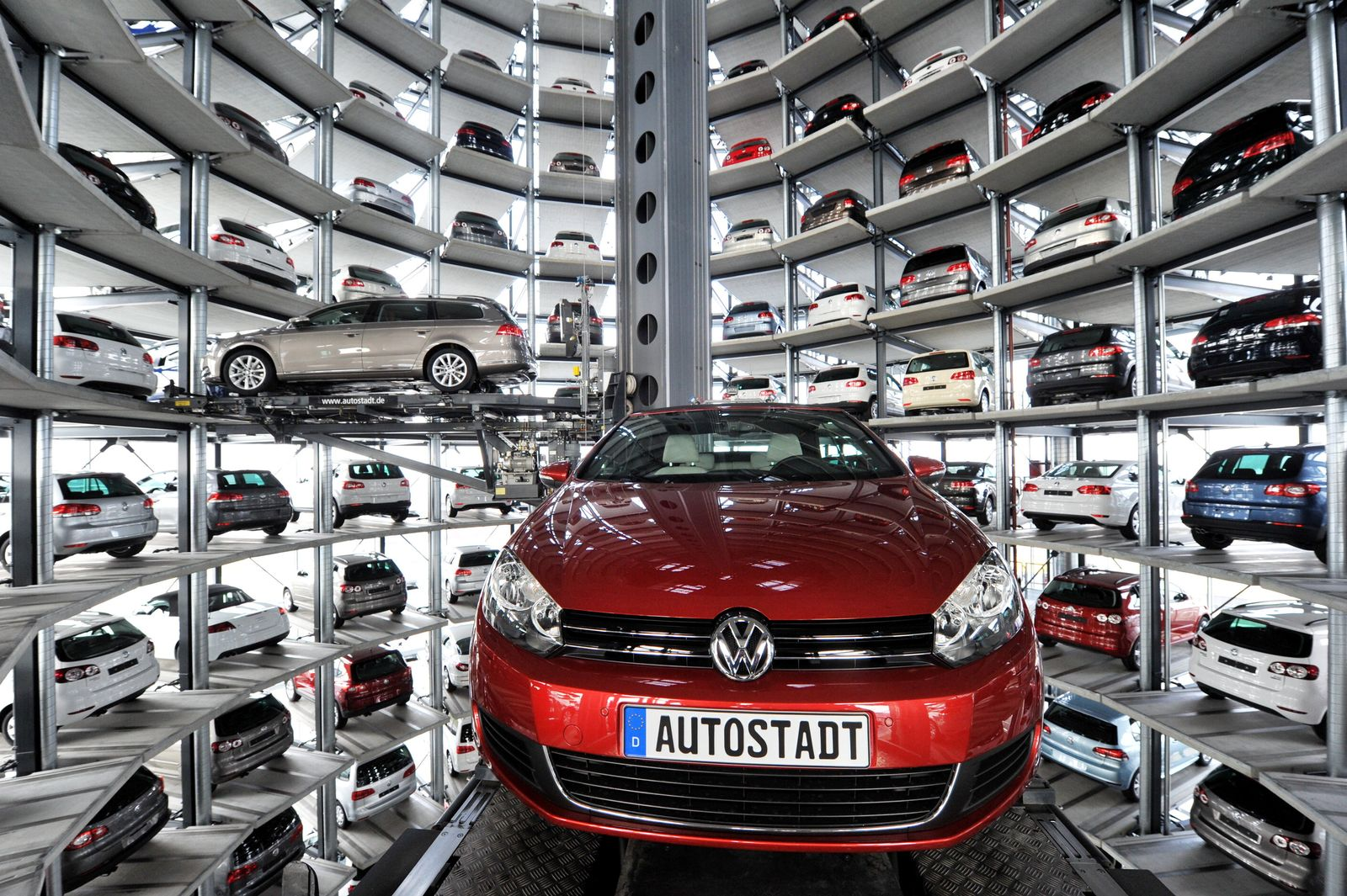 Volkswagen Wolfsburg Autotürme