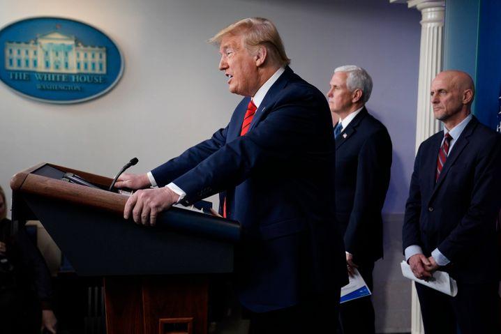 """Vordenker Donald Trump: """"Die USA sind nicht für eine Schließung gemacht"""""""