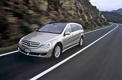 Dick und durstig: Mercedes-Benz R-Klasse
