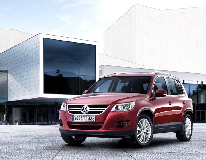 VW Tiguan: Kompakt-SUV aus Wolfsburg