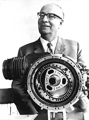 Ein Bild von einem Ingenieur: Felix Wankel, Erfinder des Rotationskolbenmotors