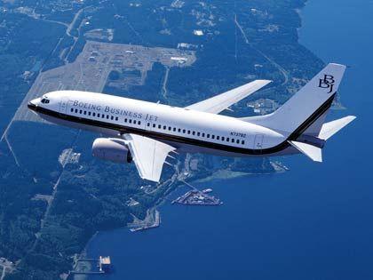 Business-Jet von Boeing
