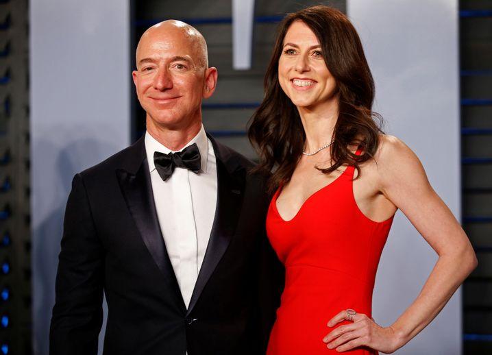Jeff und MacKenzie Bezos: Scheidung angekündigt