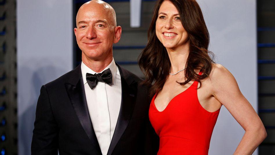Künftig getrennt: Jeff und MacKenzie Bezos