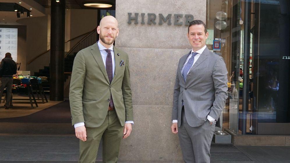 Nobeldomizil Bachmair am See: Ulrich und Christian Hirmer zieht es als Hoteliers an den Tegernsee