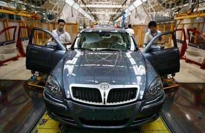 Auf der Überholspur: Produktion des Luxusautos Brilliance in Shenyang