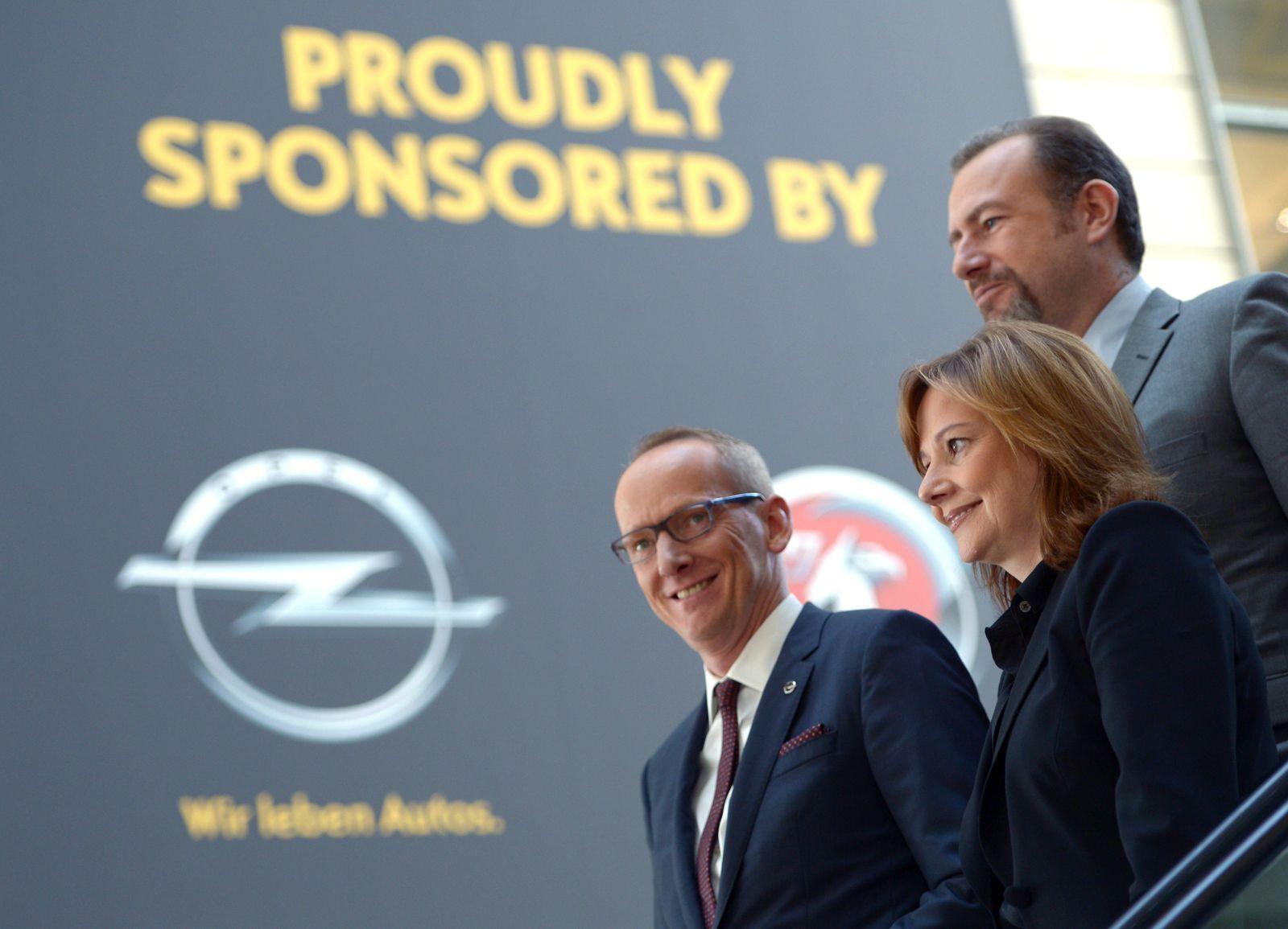 Neue GM-Chefin besucht Opel