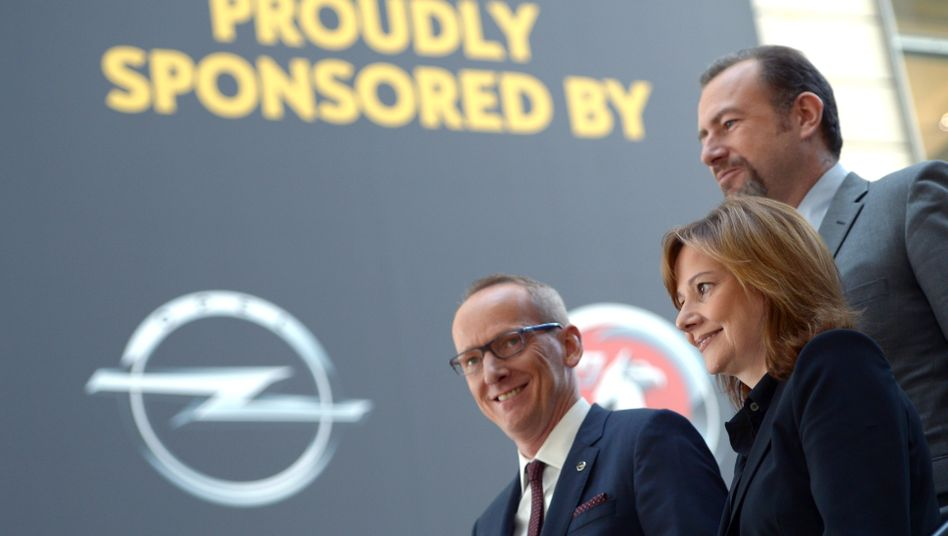 Karl Thomas Neumann (links, neben GM-Chefin Mary Barra): Opel soll zweitgrößte Marke in Europa werden - hinter VW, aber vor Ford
