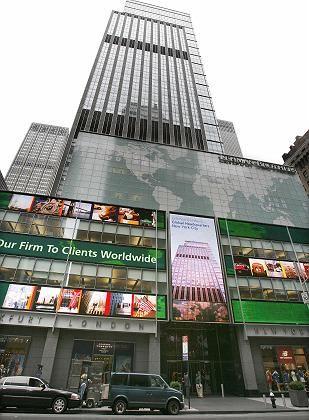 Lehman Brothers: Die Zentrale am New Yorker Times Square ist noch eins der wertvollsten Assets