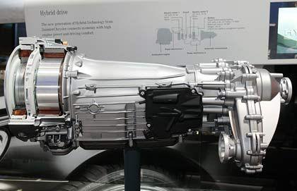 Zuerst bei Chrysler, binnen fünf Jahren bei Mercedes: Hybrid-Antriebsmodell von Mercedes