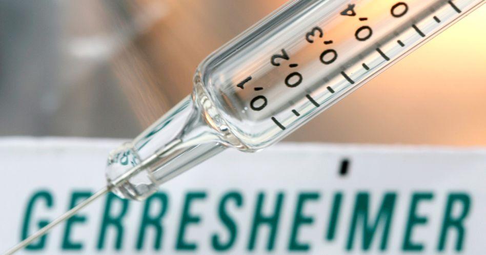 Spritze des Glasherstellers Gerresheimer: Überraschend gute Zahlen beflügeln den Aktienkurs