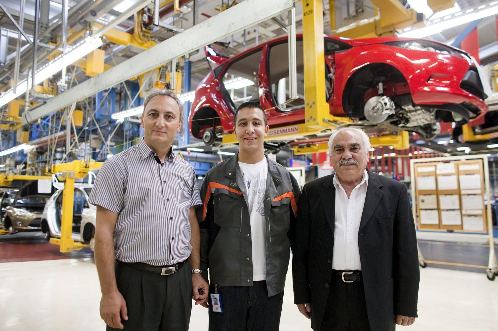 Autowerkstatt / Arbeiter / Ausländer