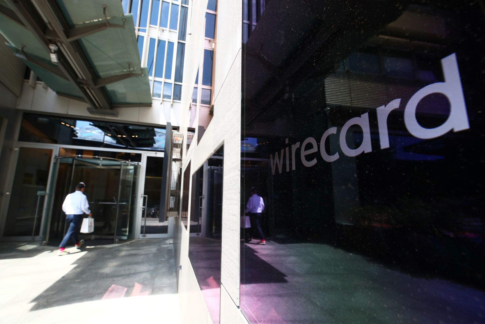 Wirecard Central Eastern Europe GmbH is seen in Vienna