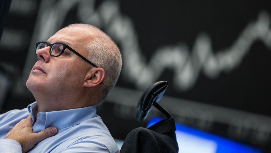 Börse in Frankfurt: Der Dax gab zum Wochenschluss leicht nach