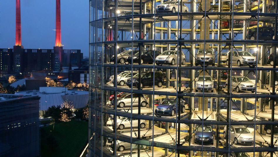VW-Stadt in Wolfsburg: Das VW-Gesetz ist den Wettbewerbshütern in der EU ein Dorn im Auge