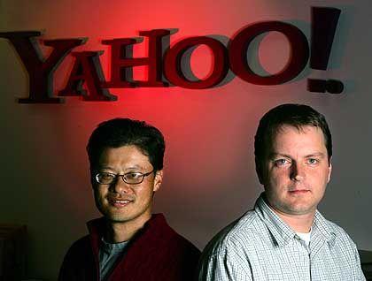 Yahoo-Gründer: Jerry Yang und David Filo