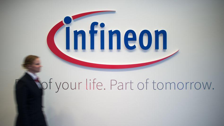 In der Zentrale des Münchener Chipherstellers Infineon.