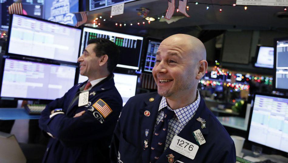 Sieht doch gar nicht so schlecht aus: An der Börse gibt es Gründe, optimistisch zu sein.