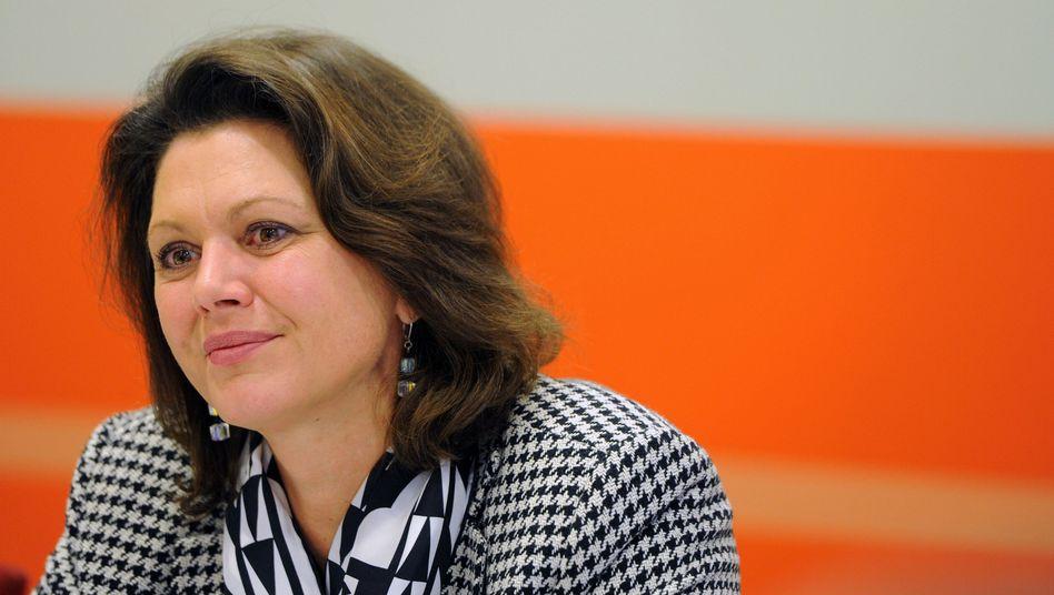 Bundesverbraucherschutzministerin Ilse Aigner (CSU): Erste Bilanz