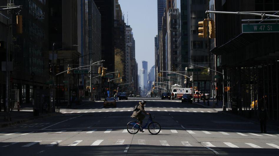 New York, Stadt der Leere