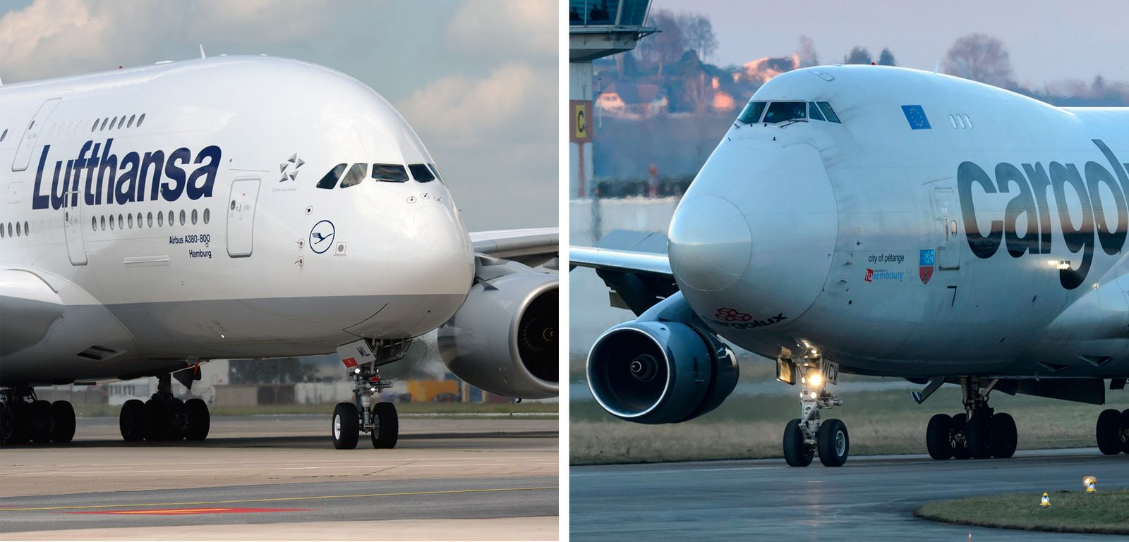 KOMBO; Boeing 747; Airbus A380