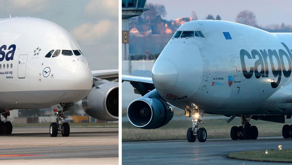 Boeing 747 und Airbus A380: Der Vorsprung von Boeing schmilzt