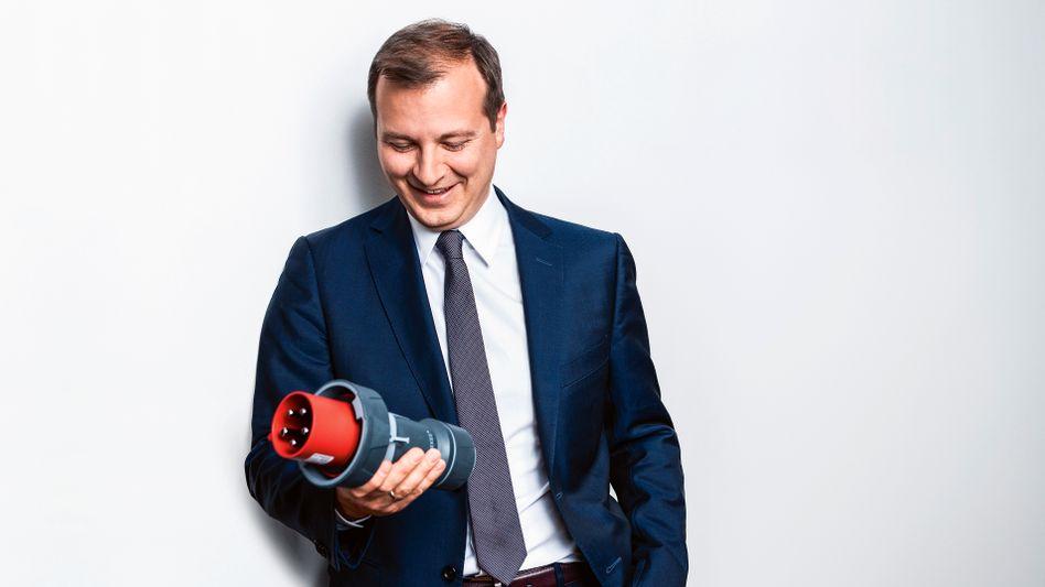 Glücksgriff: Seine E-Auto-Stecker bringen Christopher Mennekes rasant wachsende Umsätze