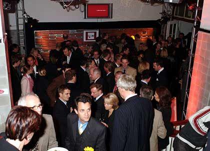 Kreißsaal der Kreativen: Rund 400 Gäste kamen zur Eröffnung der HMS