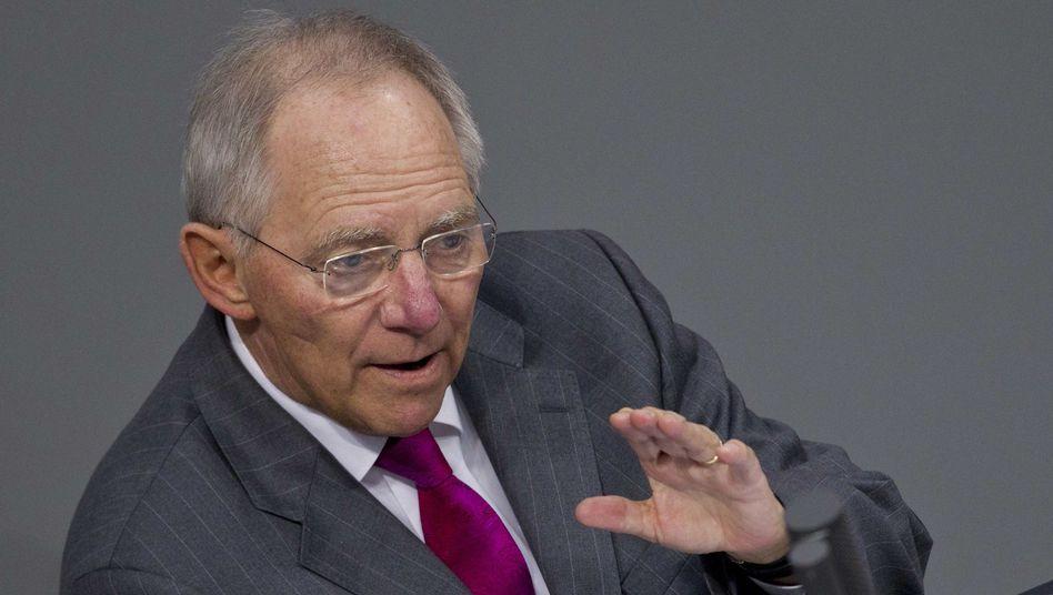 """Finanzminister Schäuble: """"Die Entfernungspauschale ist kein Instrument, um Benzinpreisschwankungen aufzufangen"""""""