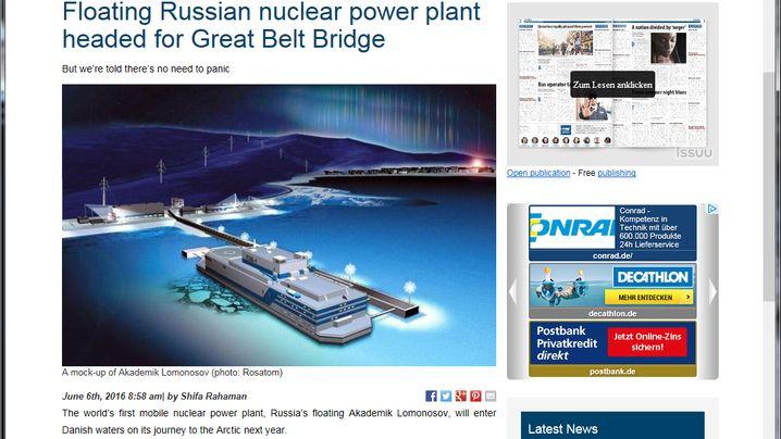 Atomkraft auf See: Diese gigantischen Powerblöcke schippern über die Weltmeere