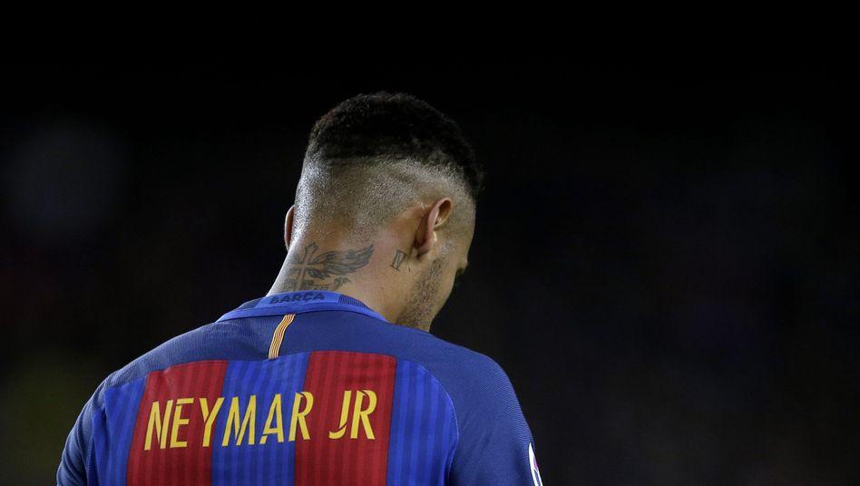 Soll laut Staatsanwaltschaft für zwei Jahre ins Gefängnis: Fußball-Superstar Neymar vom FC Barcelona
