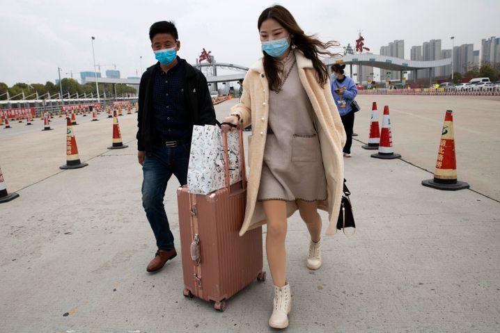 Wanderarbeiter kehren nach Wuhan zurück