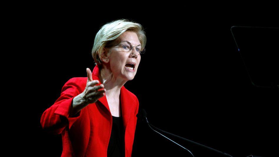 Trump-Rivalin: die US-Senatorin Elizabeth Warren.