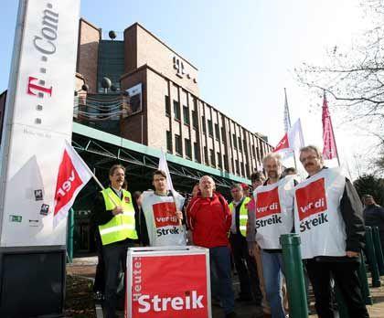 Telekom: Verhandlungen mit Verdi ziehen sich hin