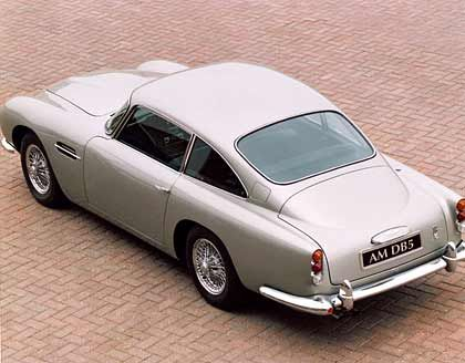 "Aston Martin DB5: Heimlicher Star in den James-Bond-Filmen ""Goldfinger"" und ""Thunderball"""