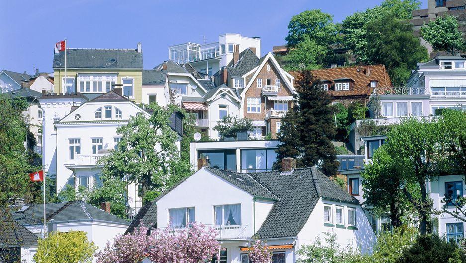 Hamburger Nobelviertel Blankenese: Laut Bundesbank sind Immobilien in Stadtteilen wie diesem zu teuer