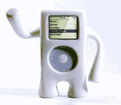 Schöne Grüße: Der iGuy ist einer von rund 700 Artikel rund um den iPod